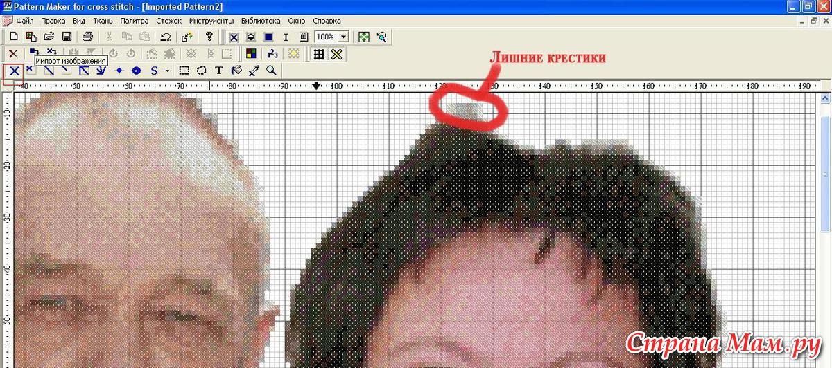Создание схемы вышивки по фотографии 12
