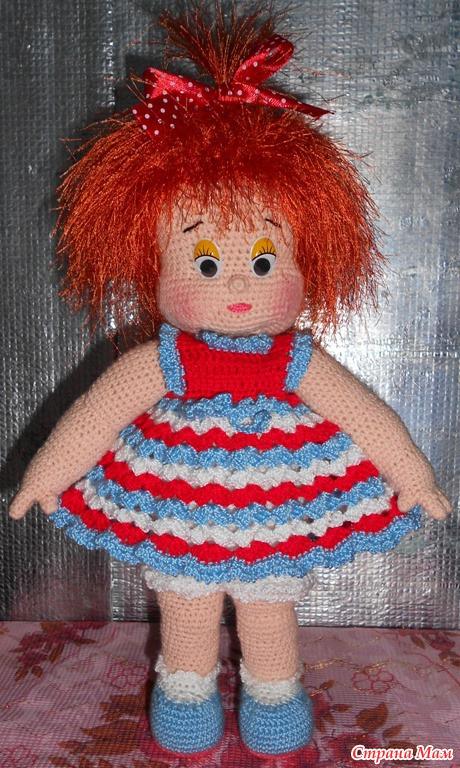 Вяжим куклы своими руками