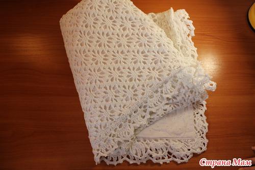 Вязание плед для выписки из