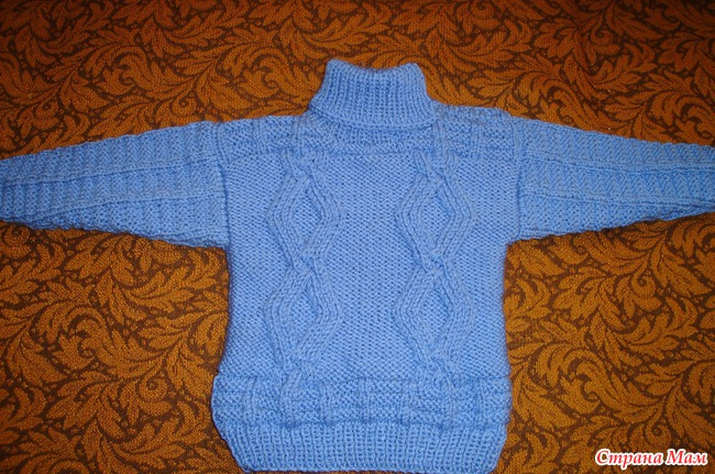 Теплый свитер для мальчика 2 4 лет