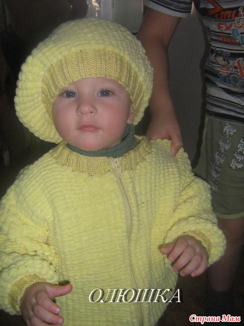 Одежда для новорожденных вязанные
