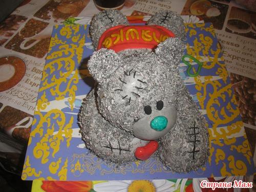 Рецепт торта мишка с пошаговым фото