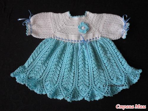 Вязание крючком платье годеция светлана берсанова