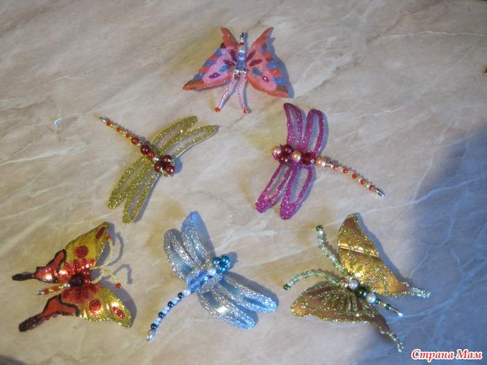 Бабочка из пластиковой бутылки своими руками фото 81