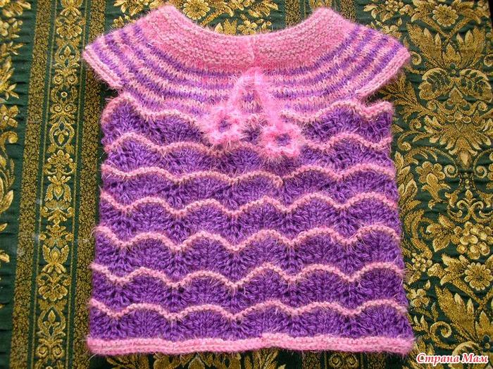 Схемы вязания кофт с короткими рукавами
