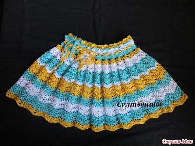Схема юбочка девочки спицами фото 825