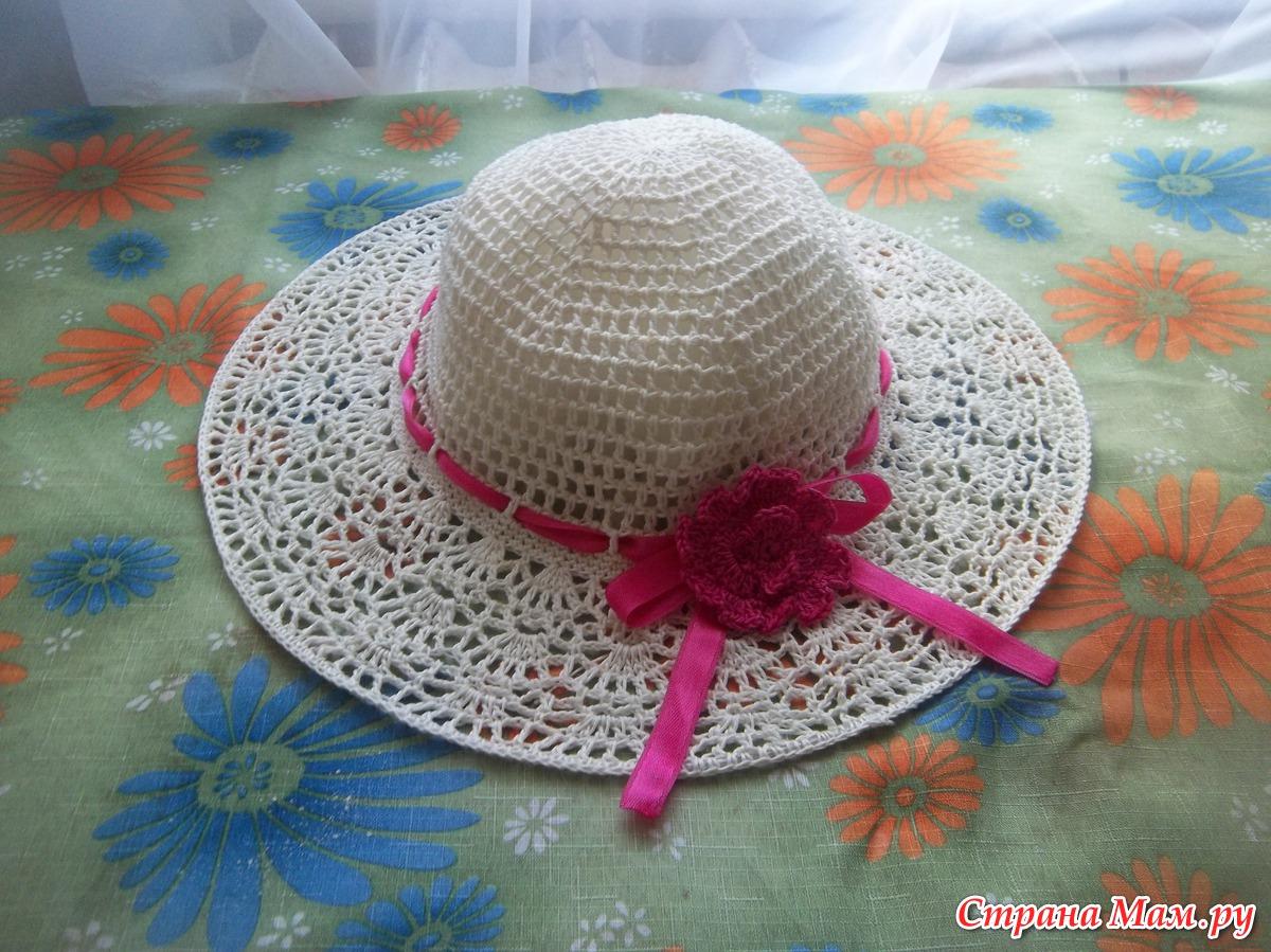 Вязаная шляпы своими руками