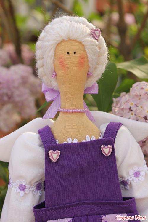 Мастер класс садовые куклы