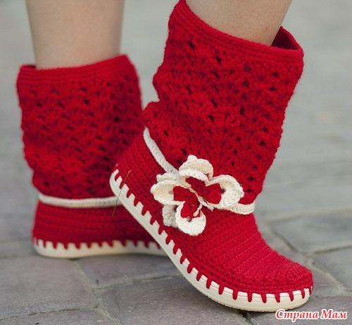 漂亮的编织靴(10) - 柳芯飘雪 - 柳芯飘雪的博客