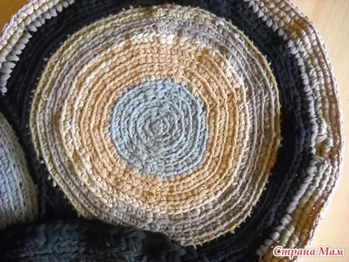 Вязание ковра своими руками