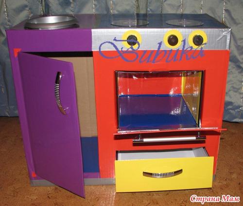 Как сделать кухонный гарнитур для детей