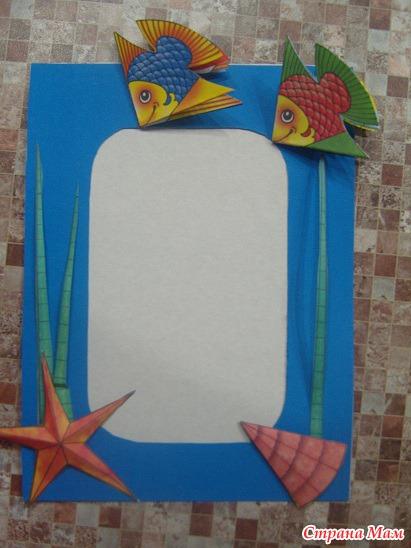 Рамки своими руками из цветной бумаги фото