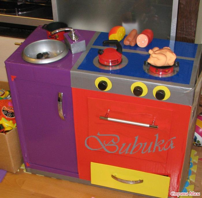 Газовая плита для ребенка своими руками