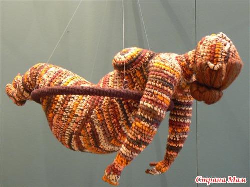 Вязаные скульптуры от Юлии Устиновой