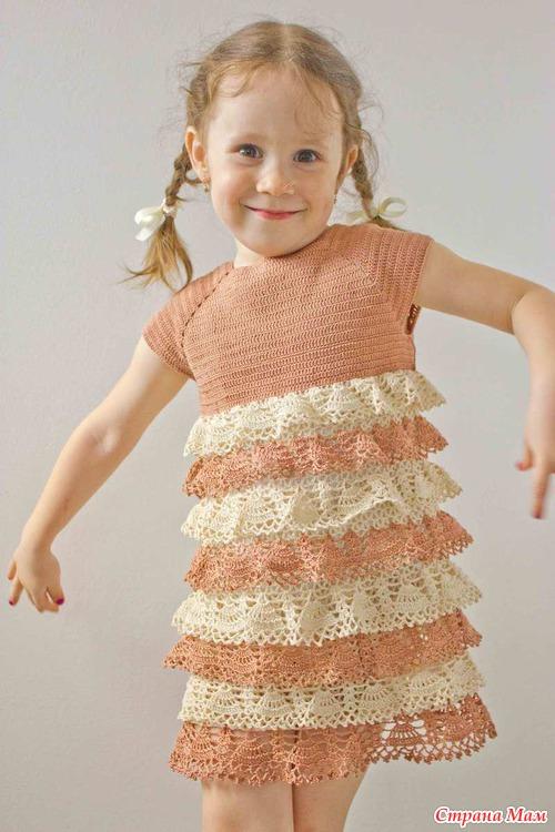 Вязаное платье для вязаное платье