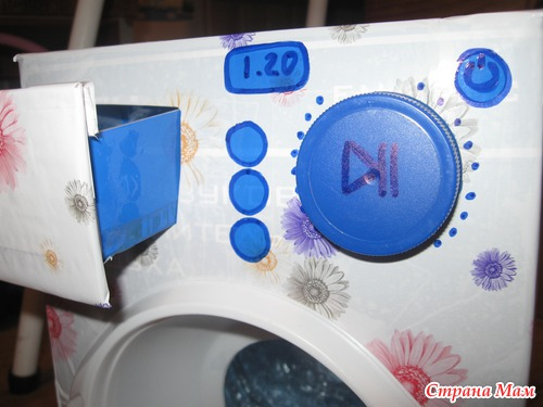 Детская стиральная машина своими руками 58