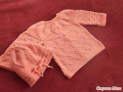 """儿童套装:""""金秋""""(上衣和帽子) - maomao - 我随心动"""