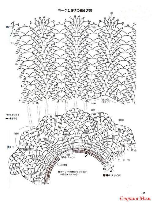 Страна мамру вязание спицами схемы