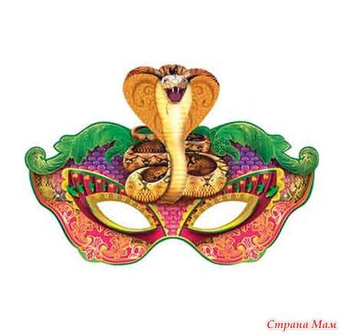 Маски змеи своими руками