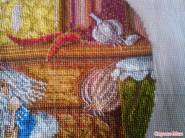 Вышивка крестом панна домовой 6