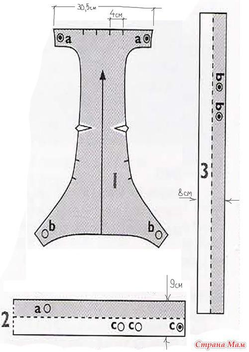 Переноска для беби бона выкройки