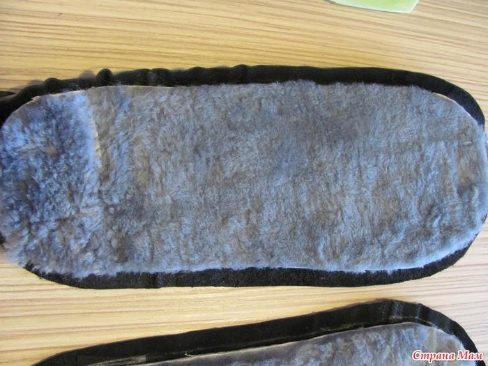Как сшить из старого пальто тапочки