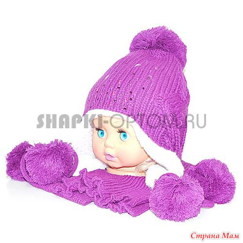 欣赏:好看又可爱的护耳儿童帽子(二) - maomao - 我随心动