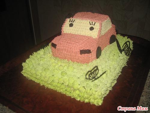 Мои вчерашние тортики