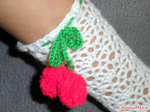 """Носочки """"Зимняя вишня"""""""