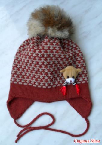 Пумпон меховой на вязаную шапку где купить
