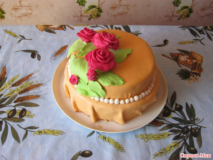 Торты на день рождения маме фото из крема