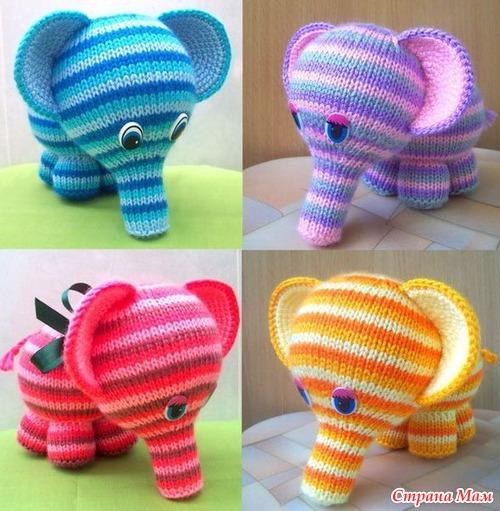 Свяжем слоника!
