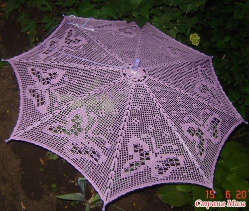 Скоро лето!? Свяжем зонтик?