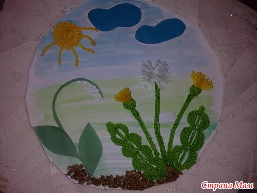 Поделка к весне в садик