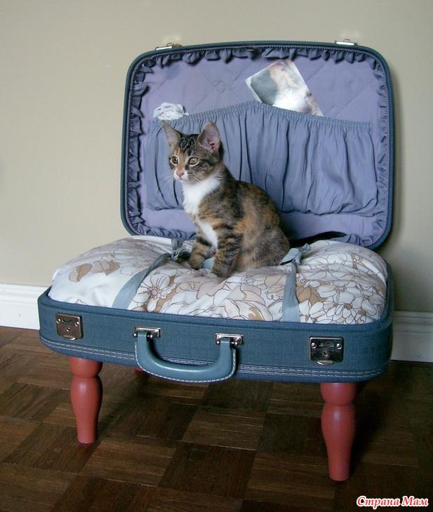 Лежанка для кошек сделать