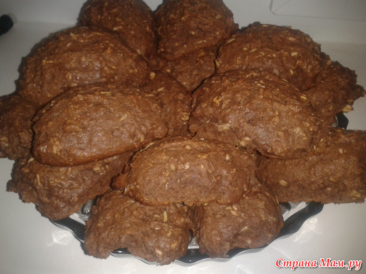 Овсяное печенье простой рецепт с фото пошагово