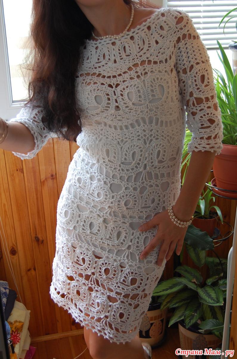 Платья ванессы монторо вязать на осинке