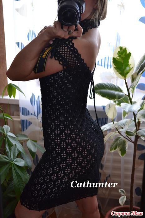钩针:漂亮的连衣裙 - maomao - 我随心动