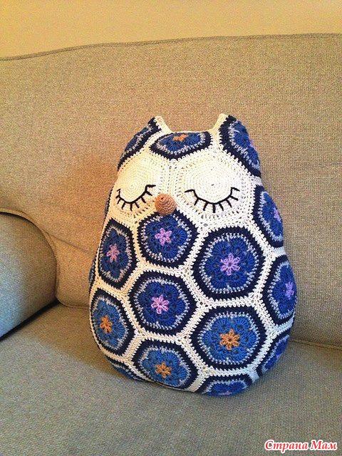 Совушка-подушка :)