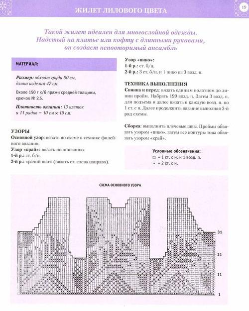 Кардиган филейным вязанием схемы 88