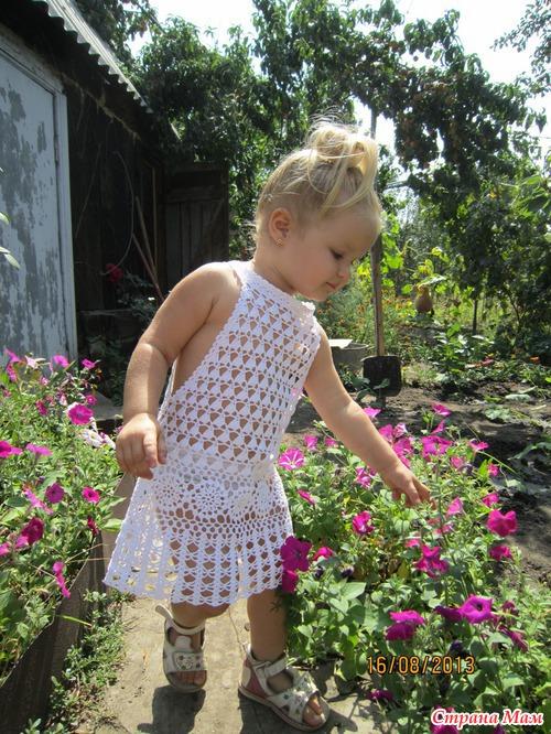 Наше пляжное платье-туника