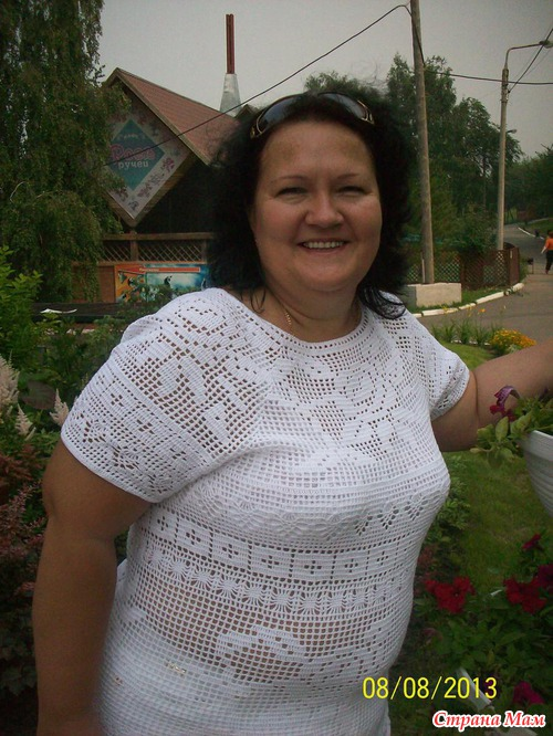 """Блуза """"Белые розы"""""""