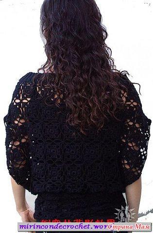 Блуза - перевертыш