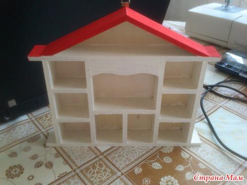 Как сделать домик для игрушек из киндеров 228
