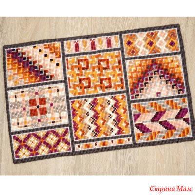 Схемы ковриков vervaco