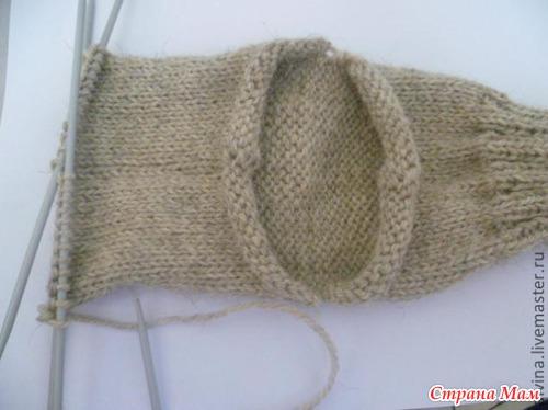 Два необычных способа вязания носков