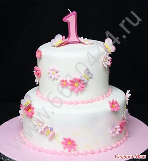 Торт на 1 год. в нижнем новгороде, фото тортов, фото на тортах, детские торты фото.