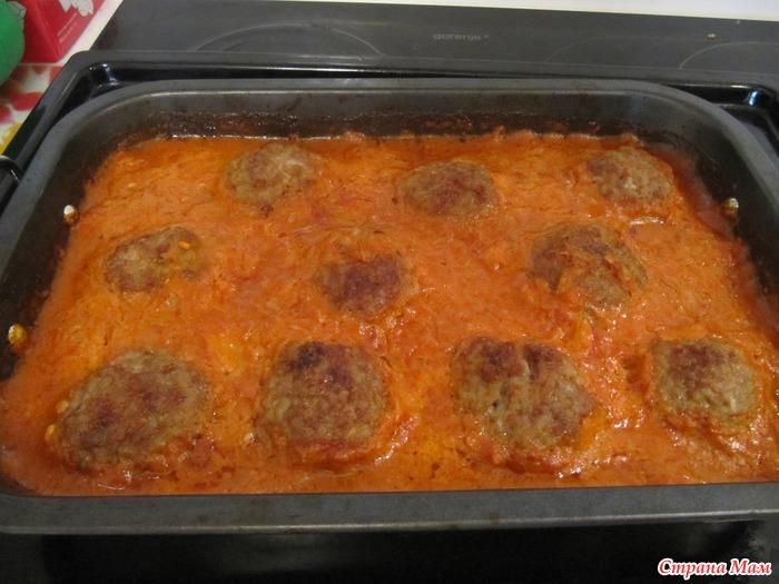 Пошаговый фото рецепт тефтелей в духовке