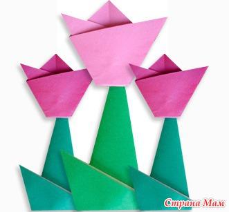 Схема оригами в картинках.
