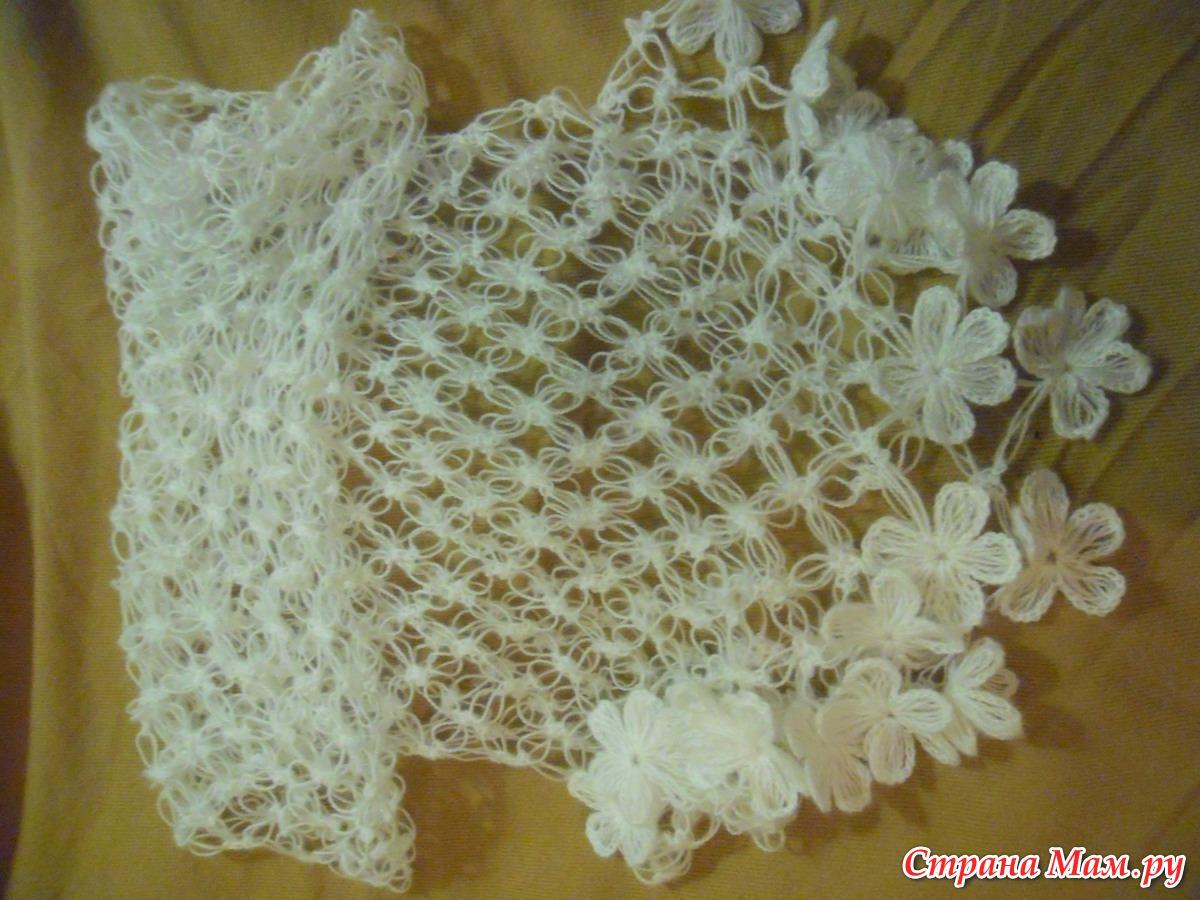 Вязание соломоновым узлом